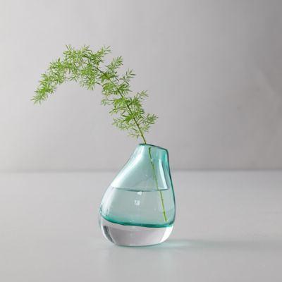 Asymmetrical Suspension Glass Vase, Small