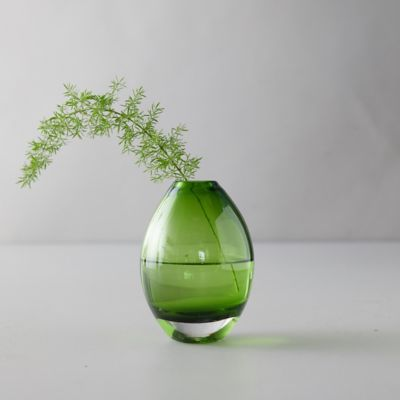 Suspension Glass Rounded Bud Vase