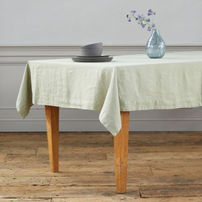 Lithuanian Linen Tablecloth, Solid
