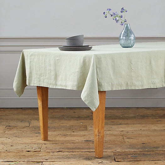 View larger image of Lithuanian Linen Tablecloth, Solid