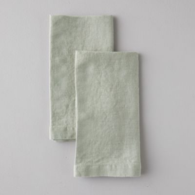 Lithuanian Linen Napkins, Set of 2