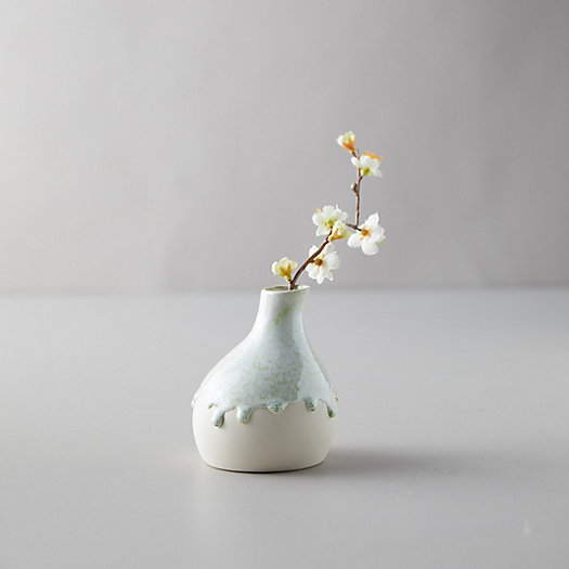 View larger image of Ceramic Color Drip Bud Vase