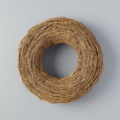 Wrapped Bamboo Wreath