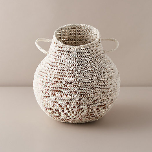 View larger image of Asymmetrical Woven Grass Basket