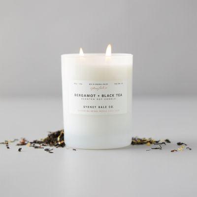Sydney Hale Candle, Bergamot + Black Tea