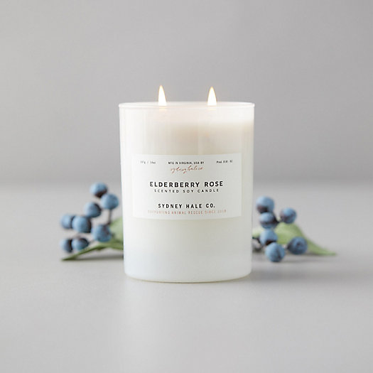 View larger image of Sydney Hale Candle, Elderberry Rose