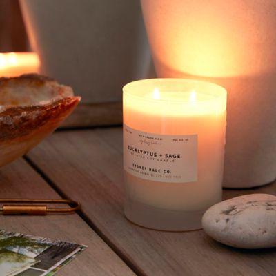 Sydney Hale Candle, Eucalyptus + Sage
