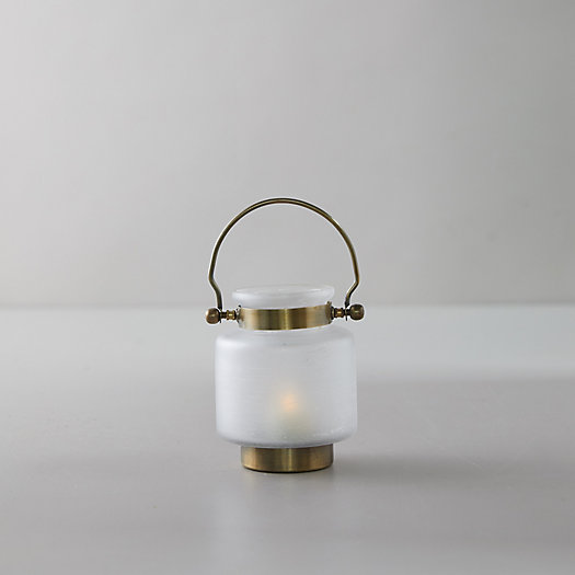 View larger image of Frosted Glass Lantern