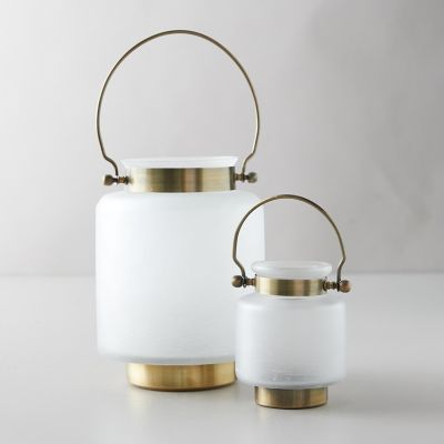 Frosted Glass Lantern