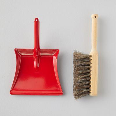 Child Dustpan + Brush