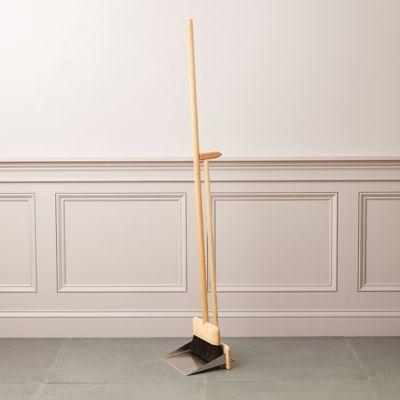 Dustpan + Brush Stand Set