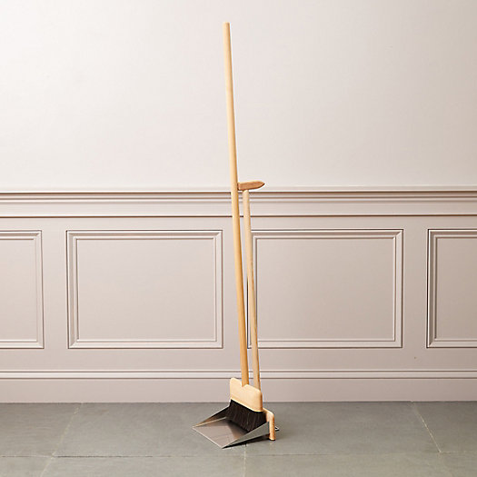 View larger image of Dustpan + Brush Stand Set
