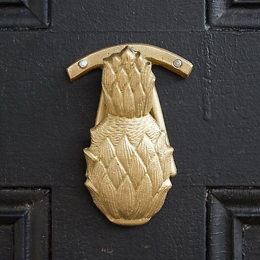 View larger image of Brass Pineapple Door Knocker