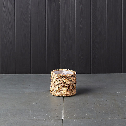 View larger image of Cylinder Basket Planter