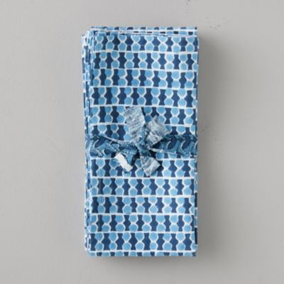 Lapis Geo Cotton Napkin