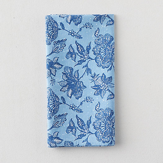 View larger image of Riviera Florals Cotton Napkin