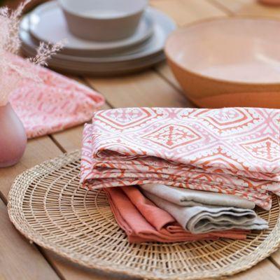 Havana Block Print Cotton Napkin