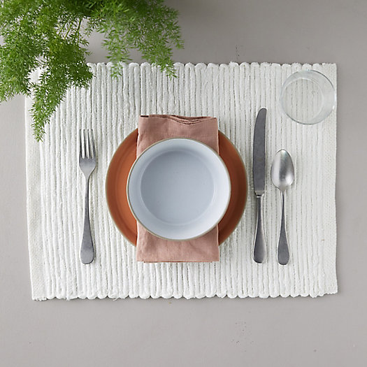 View larger image of Textured Linen Placemat