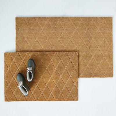 Trellis Embossed Doormat