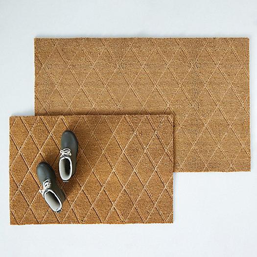 View larger image of Trellis Embossed Doormat