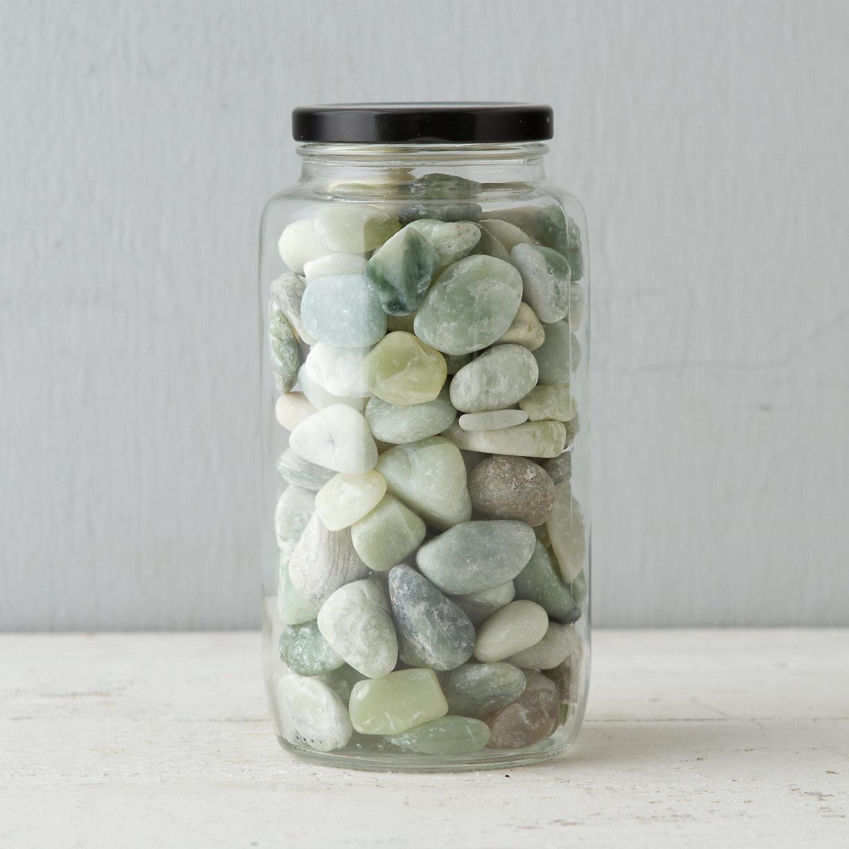 Ornamental Potting Stone, Jade