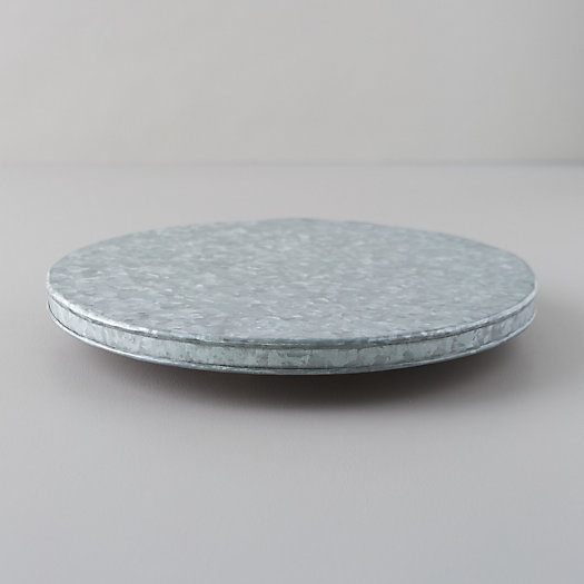 View larger image of Galvanized Iron Lazy Susan