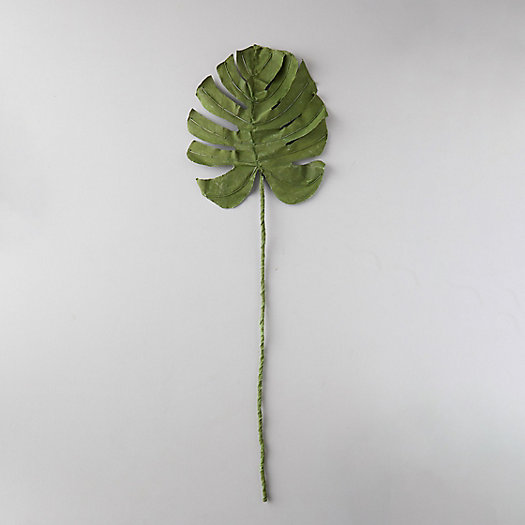 View larger image of Canvas Monstera Leaf Stem