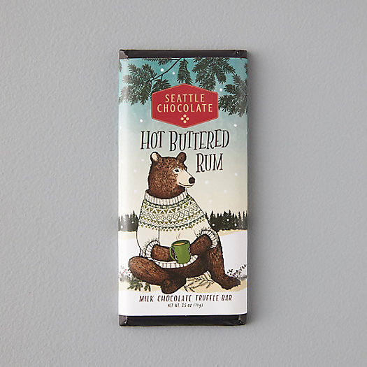 View larger image of Hot Buttered Rum Dark Chocolate Truffle Bar