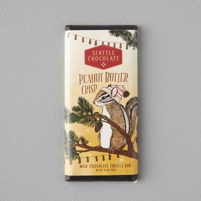 Milk Chocolate + Peanut Butter Crisp Truffle Bar