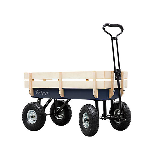 View larger image of Wood + Steel Cart
