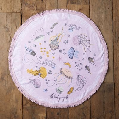 Kids' Round Terry Towel, Sirene