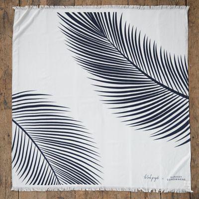 Palm Leaf Beach Blanket