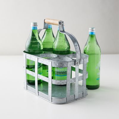 Galvanized Drink Caddy