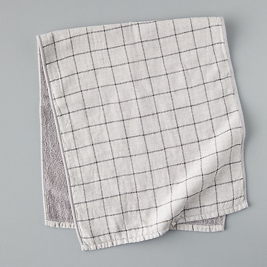 View larger image of Windowpane Cotton Hand Towel