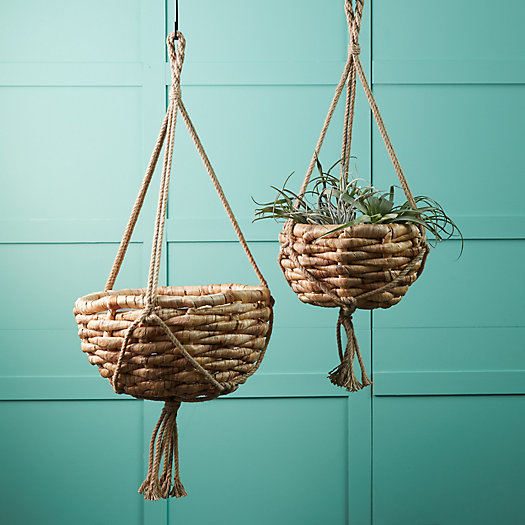 View larger image of Water Hyacinth Hanging Basket