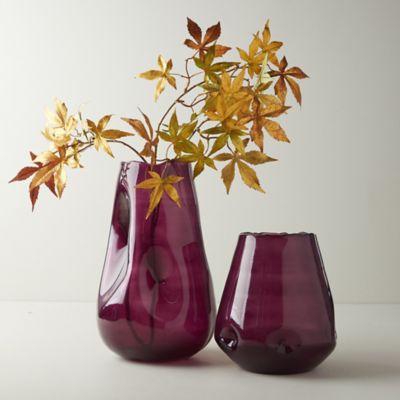 Dimpled Cylinder Vase