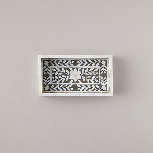 View larger image of Mother of Pearl Inlay Tray