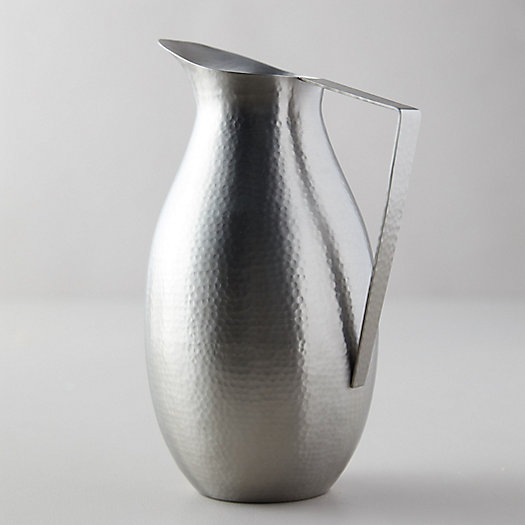 View larger image of Hammered Pewter Pitcher