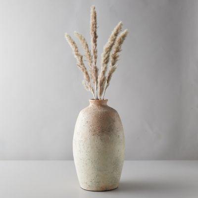 Aged Ceramic Vase, Peach