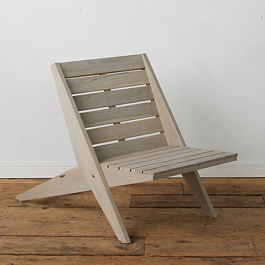 View larger image of Newport Teak Armless Chair