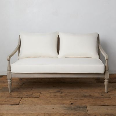 Shoreham Teak Two Seat Sofa