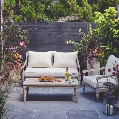 Shoreham Teak Two Seat Sofa