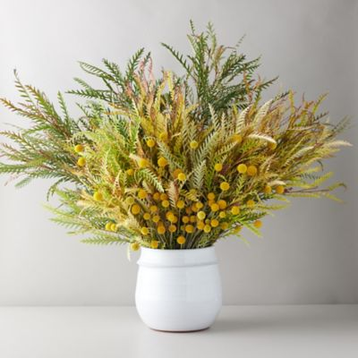 Grevillea + Craspedia Bouquet