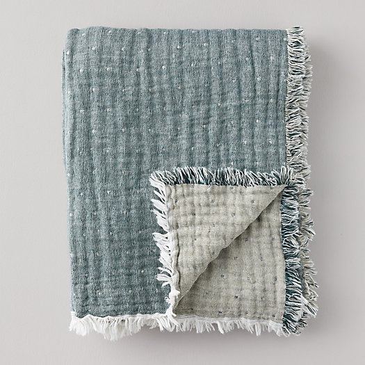 View larger image of Reversible Lightweight Throw