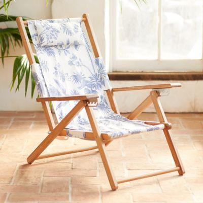 Weekender Backpack Teak Lounge Chair