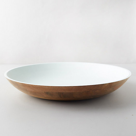 View larger image of Mango Wood Serving Bowl