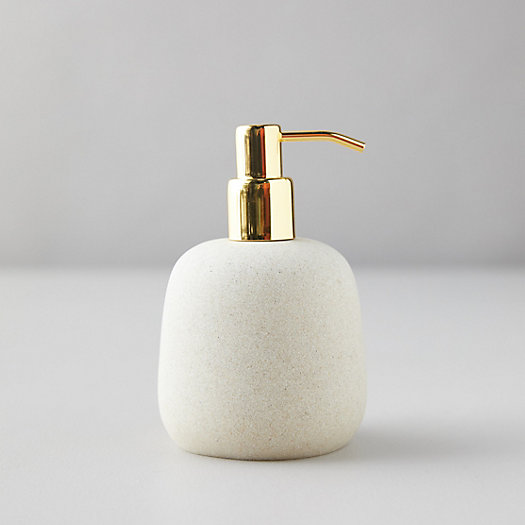 View larger image of Faux Stone Soap Dispenser