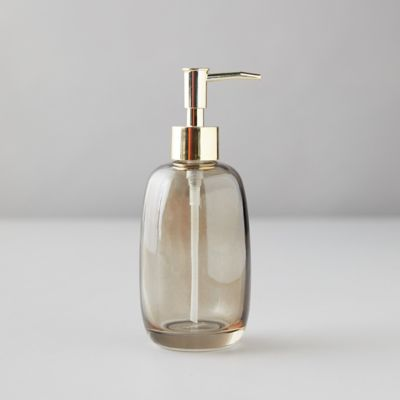 Sepia Glass Soap Dispenser