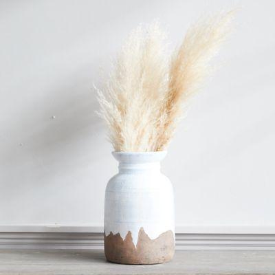 Drip Clay Flared Urn