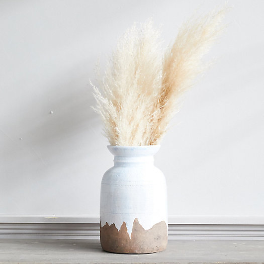 View larger image of Drip Clay Flared Urn